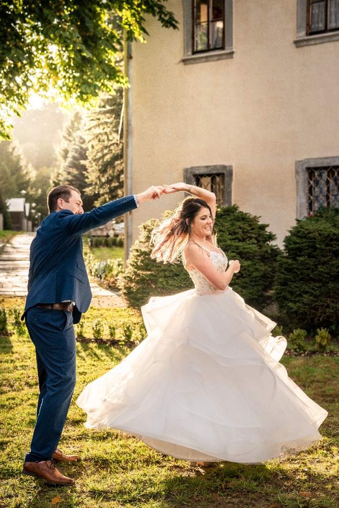 Svatba na zámecké faře Vidžín